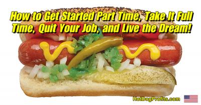 part time hot dog vending