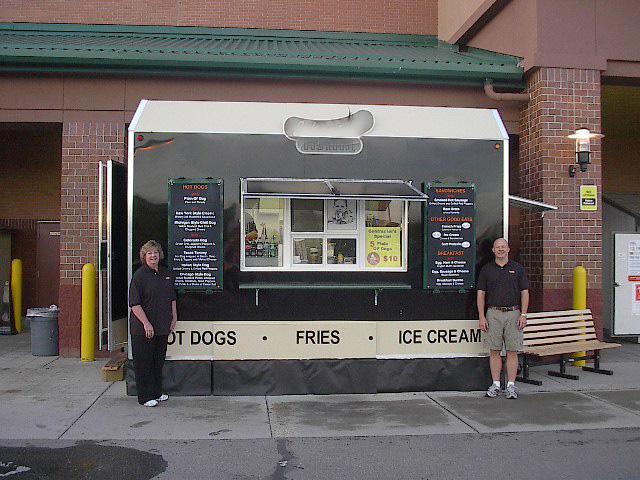 Nicest I Ve Seen Anywhere Hot Dog Cart