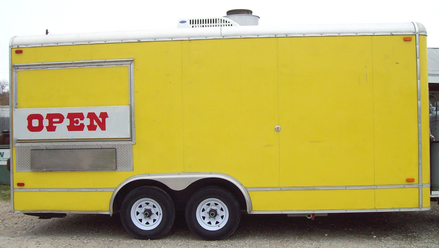 You Gotta See This Concession Trailer Hot Dog Cart