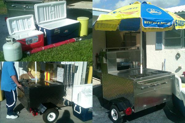 Used Hot Dog Cart