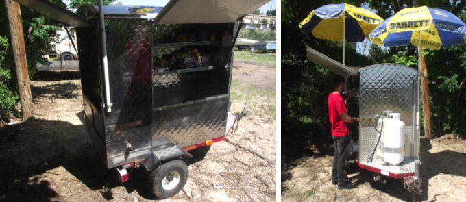 Used hot dog cart for sale on HotDogProfits.com