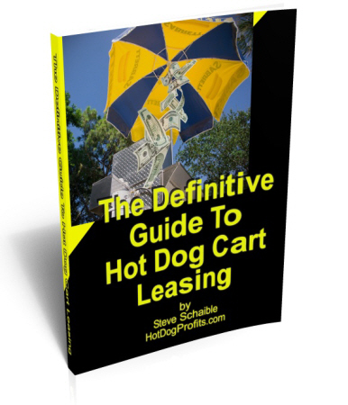 hot dog cart leasing