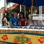 hawaiin hot dog cart for sale