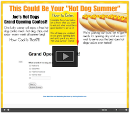 free hot dog website