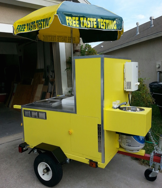 Ez Built Hot Dog Cart Plans