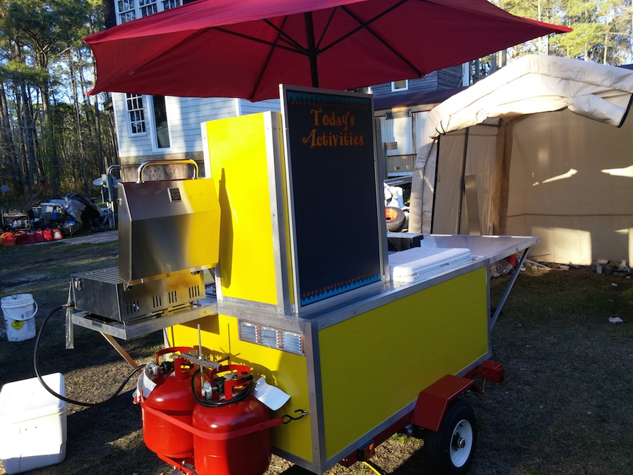 #1 Hot Dog Cart Business Book