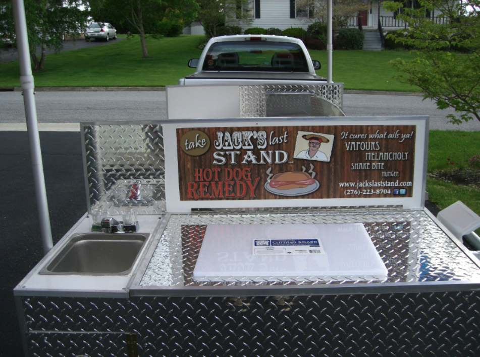 Free Plans For Building A Hot Dog Cart