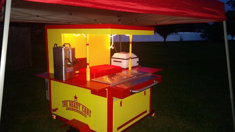 Hot Dog Cart Design Plans