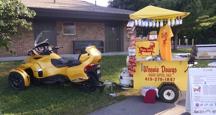 EZ Built Hot Dog Cart