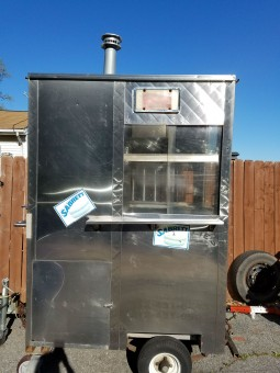 3afd10cf083 Hot dog cart for sale! Small grill
