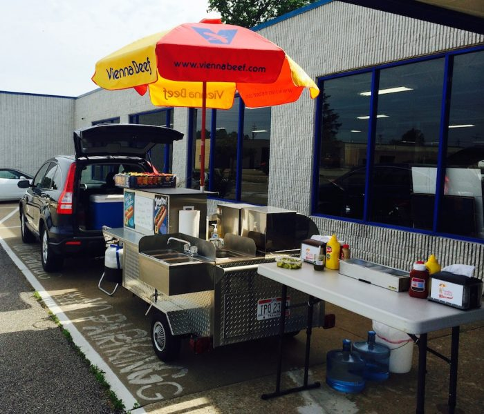 used DreamMaker Hot Dog Cart for sale