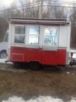 Used Hot Dog Concession Trailer And Hot Dog Cart For Sale