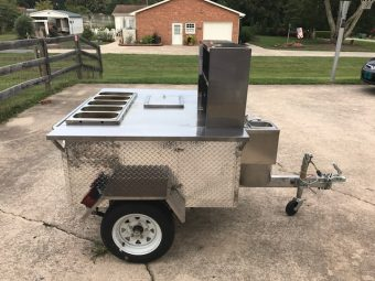 lees used hot dog cart for sale in north carolina