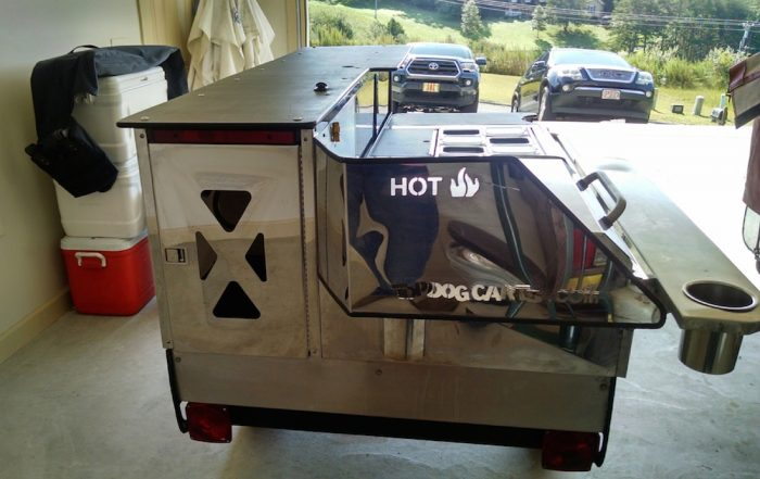 top dog hot dog cart for sale