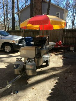 used A-101 hot dog cart for sale