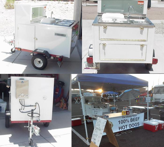 used hot dog cart business