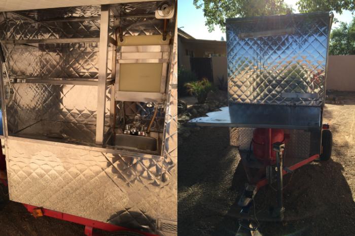 used hot dog cart in Arizona