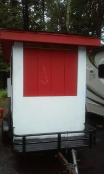 used hot dog trailer for sale