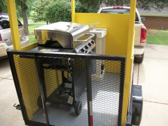 used stand in hot dog cart for sale