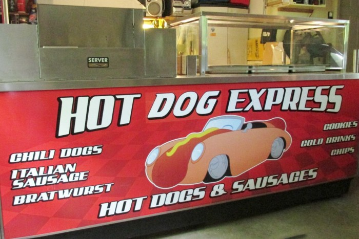 used electric hot dog cart for sale