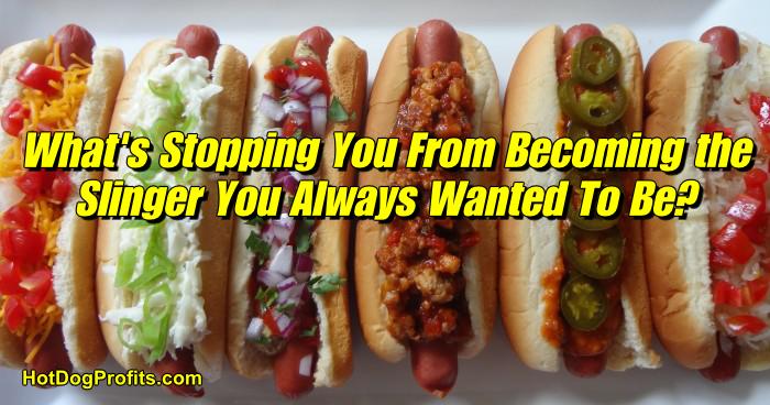 Become a Hot dog Cart Vendor