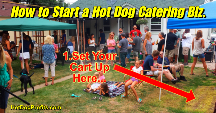 How to start a hot dog catering business