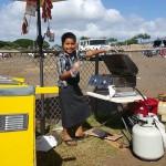 hot dog cart in Hawaii 1