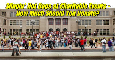 Hot Dog Carts at Charity Events