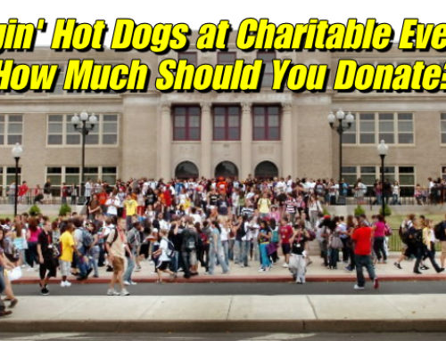 Hot Dog Carts and Charitable Events – How Much to Donate?
