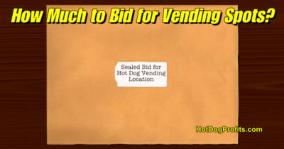 hot dog vending bids