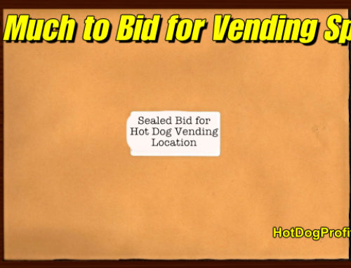 How Much Should You Bid For Hot Dog Vending Spots?