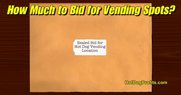 hot dog vending bids