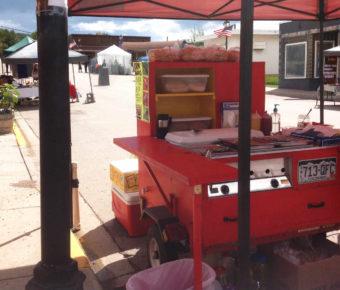 Law Dog hot dog cart 2