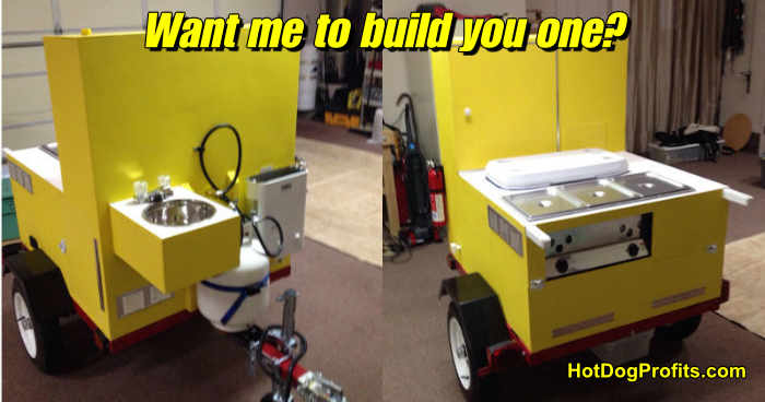 Want me to build a hot dog cart for you?