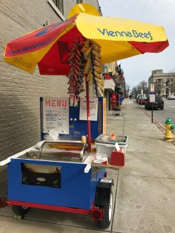 Rick and Son Hot Dog Cart