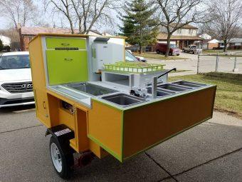 Shady Dawg hot dog cart