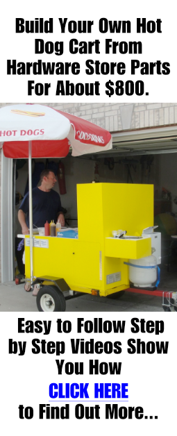 home made hot dog cart plans