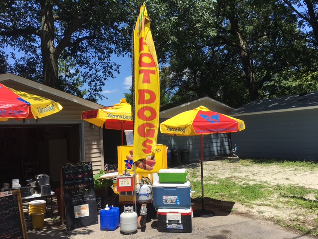 hot dog cart for sale waterford wisconsin