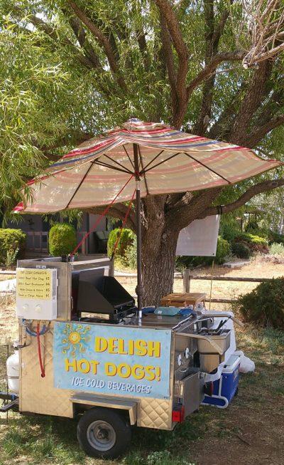 hot dog cart set up critique