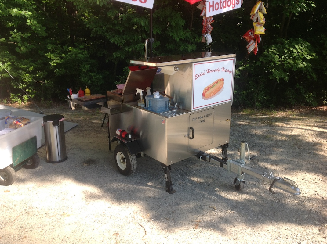used hot dog cart for sale