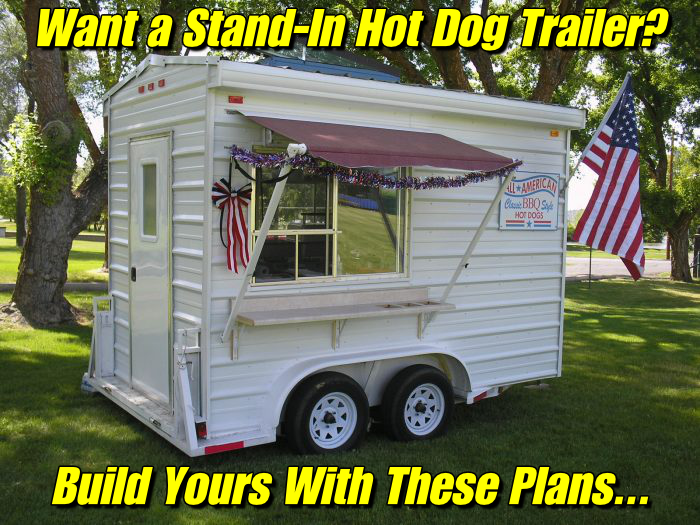 how to build a stand in hot dog cart
