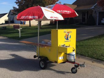 Steves Hot Dog Cart For Sale