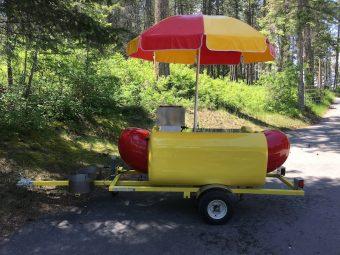 Hot Dog Cart Health Inspection