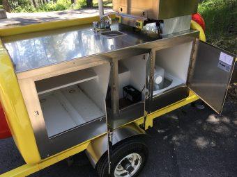 used willy dog hot dog cart