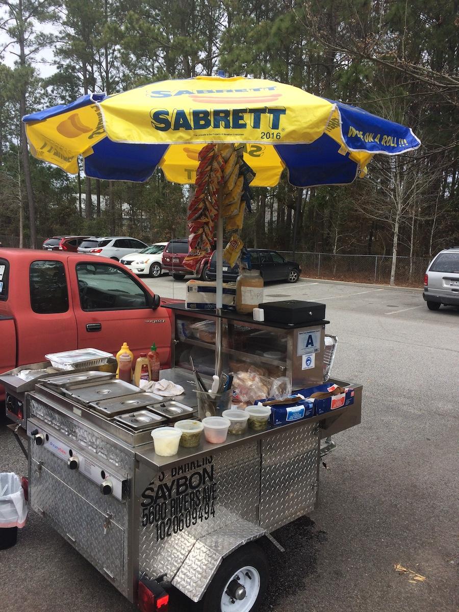 Al S Barkers In Charleston Sc Hot Dog Cart