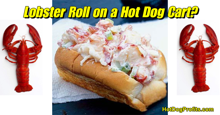 Lobster Rolls On A Hot Dog Cart How To Hot Dog Cart