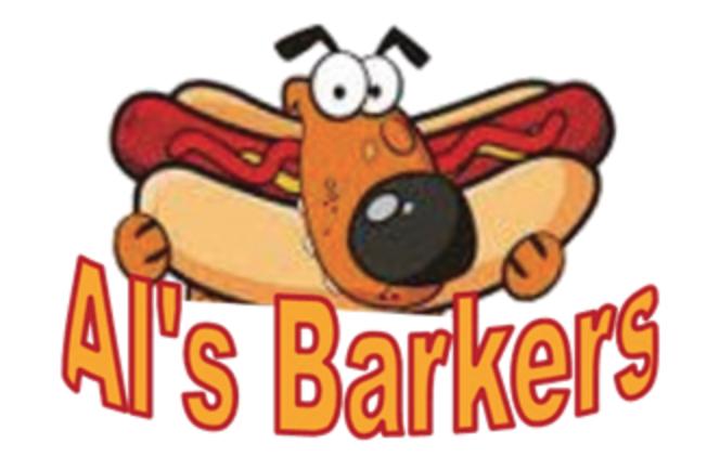 Image result for Al's Barkers Hot Dog Cart images